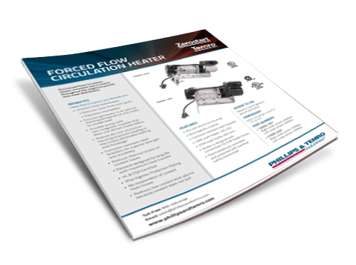 Forced Flow Circulation Heater Datasheet