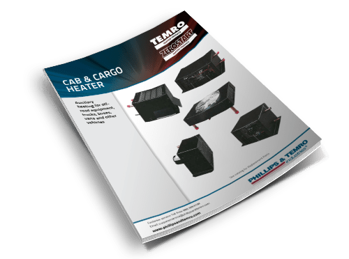 Zerostart Product Data Sheet - Cab and Cargo Heaters