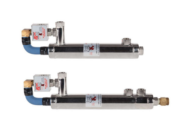 in-line diesel fuel heater, in-line biodiesel fluid warmer