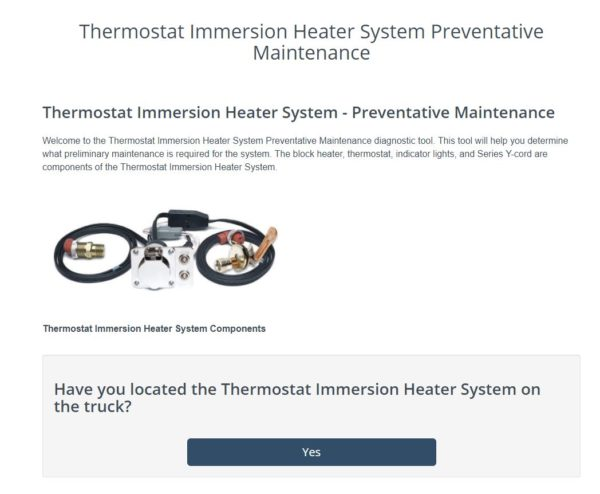 Thermostat Immersion Heater System Tool