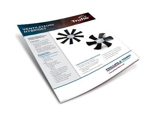 French Truflo Hybrid Fan Data Sheet